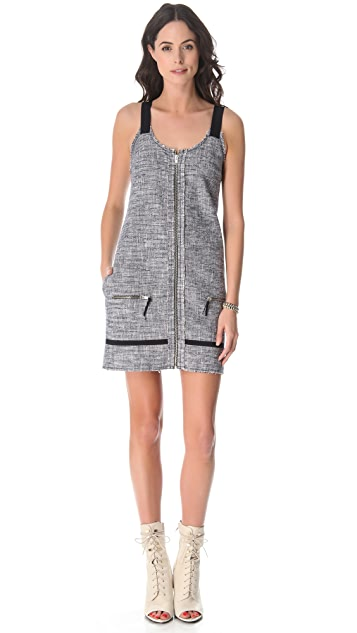 Band of Outsiders Tweed Overall Dress