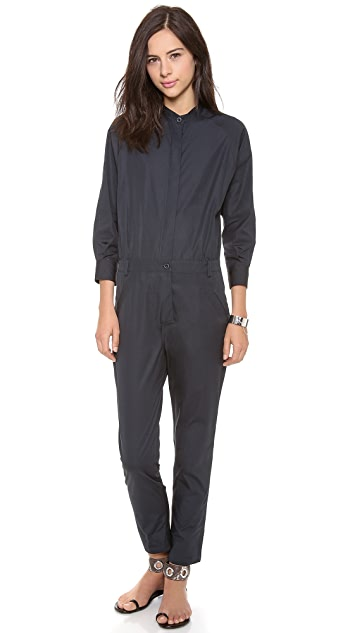 Band of Outsiders Poplin Jumpsuit