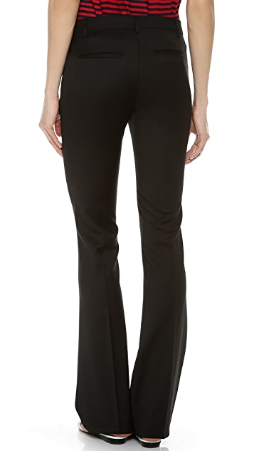 Band of Outsiders Flare Dress Pants