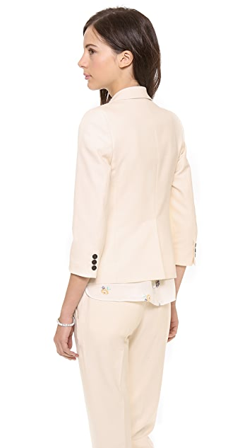 Band of Outsiders Shrunken Double Breasted Blazer