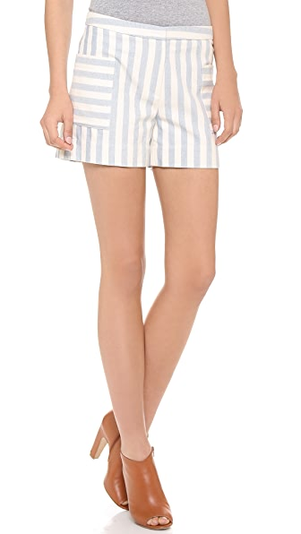 Band of Outsiders Striped Shorts