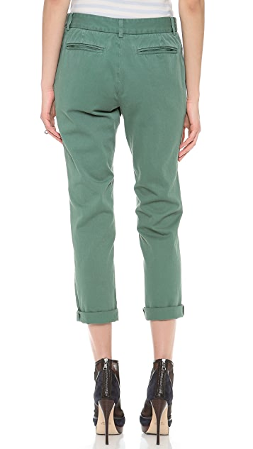Band of Outsiders Flat Front Chinos