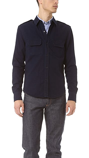 Band of Outsiders Military Shirt