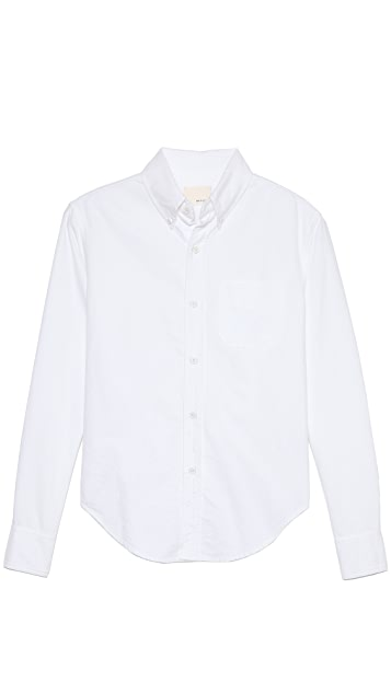 Band of Outsiders Long Sleeve Sport Shirt