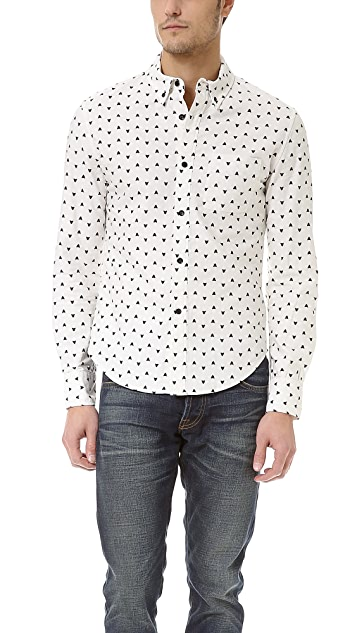 Band of Outsiders Asteroids 7800 Sport Shirt