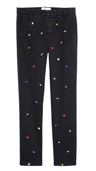 Band of Outsiders Atari Icons Chinos