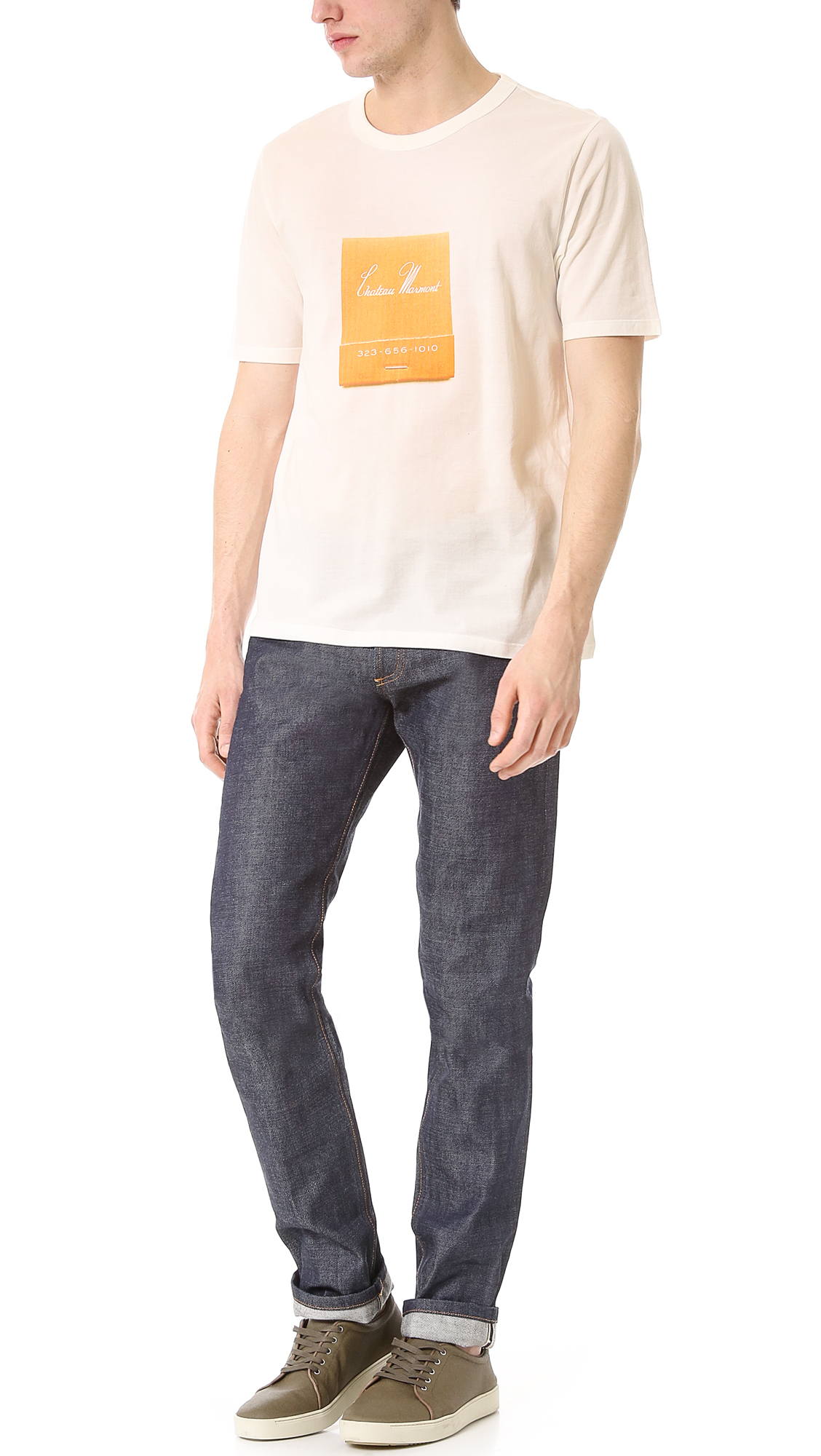 29813d9688a Band of Outsiders Chateau Marmont Tee