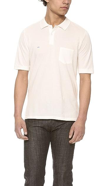 Band of Outsiders Trap Pocket Polo Shirt