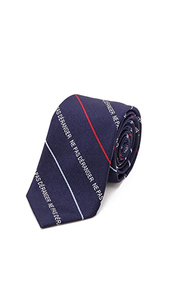 Band of Outsiders Do Not Disturb Tie