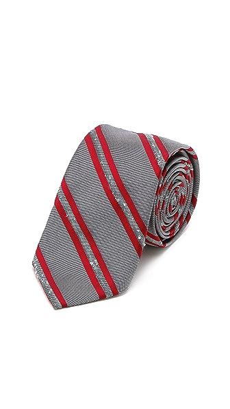 Band of Outsiders Wellington Stripe Tie