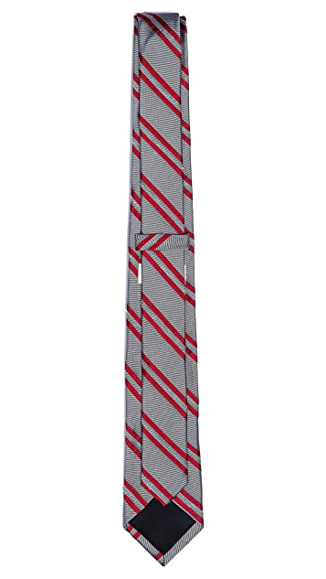 Band of Outsiders Wellington Stripe Tie