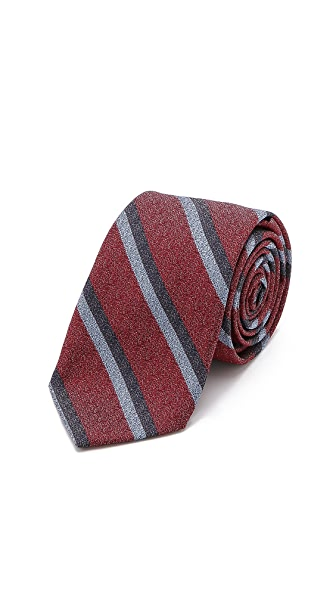 Band of Outsiders Double Stripe Tie