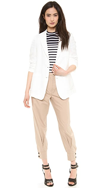Band of Outsiders Poplin Slouchy Pants