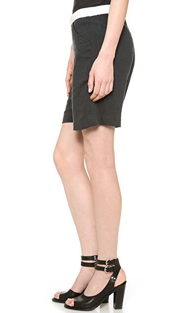 Band of Outsiders Double Gauze Suiting Shorts