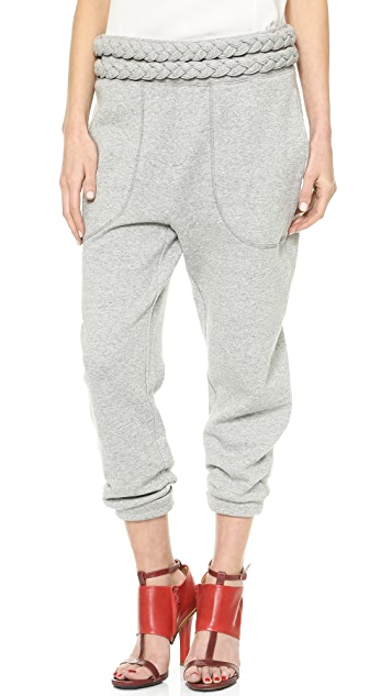 Band of Outsiders Braid Trim Sweatpants