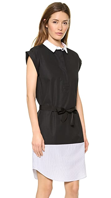 Band of Outsiders Patchwork Shirtdress