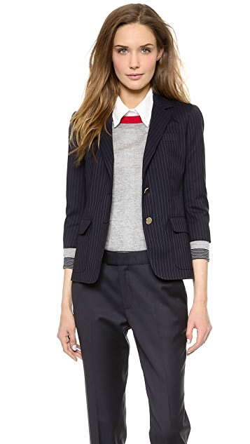 Band of Outsiders Two Button Schoolboy Jacket
