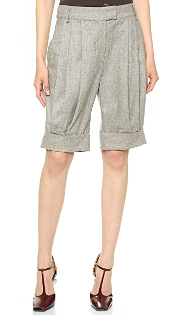 Band of Outsiders Slouchy Cuffed Shorts