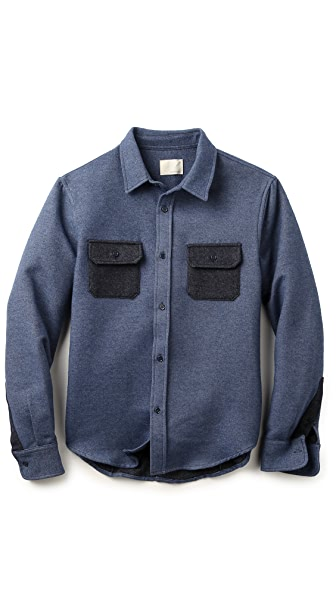 Band of Outsiders Flannel Work Shirt