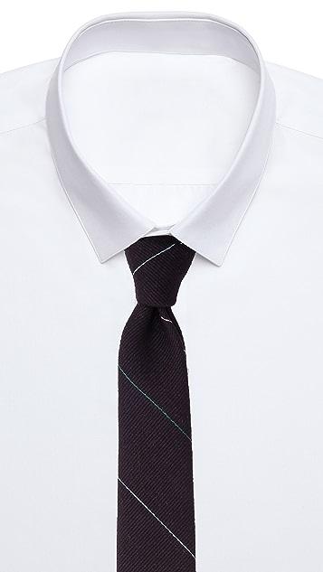 Band of Outsiders Fine Multi-Stripe Necktie