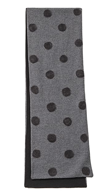 Band of Outsiders Punch Dot Scarf