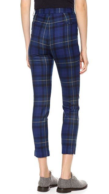Band of Outsiders Pleat Front Slim Pants
