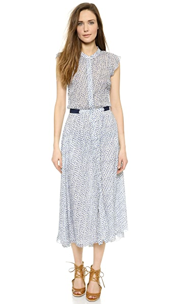 Band of Outsiders Scribble Flower Shirtdress