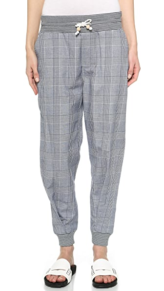 Band of Outsiders Glen Plaid Pants