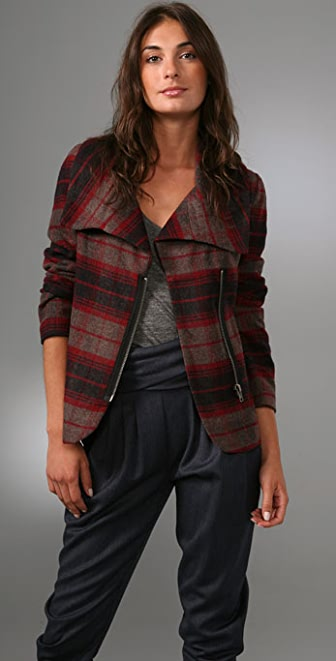 BB Dakota Gunnison Plaid Jacket