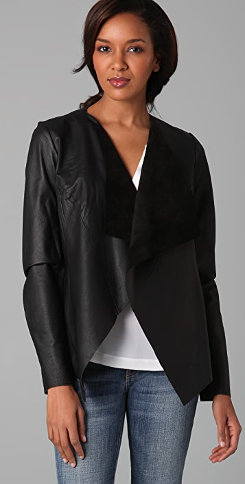 BB Dakota Damon Leather Jacket