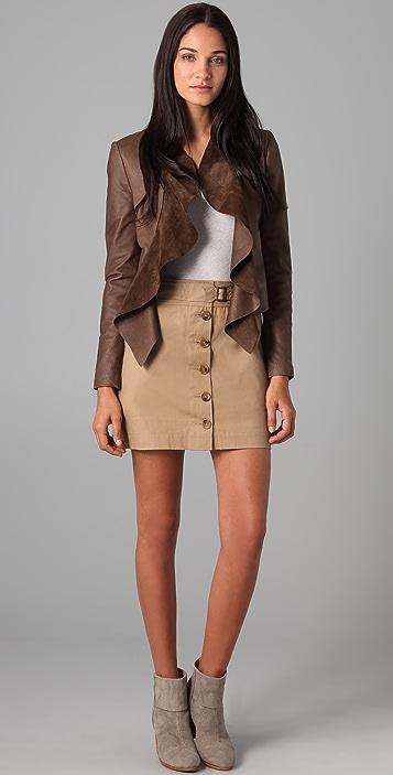 BB Dakota Channing Leather Jacket