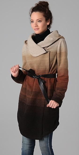 BB Dakota Zeke Ombre Hooded Jacket