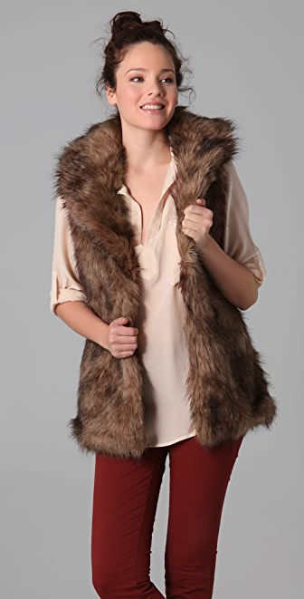 BB Dakota Ladonna Faux Fur Vest