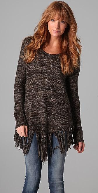 BB Dakota Jenina Fringe Sweater