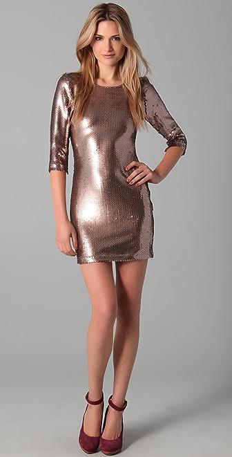 BB Dakota Derora Sequin Dress