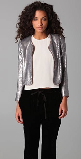 BB Dakota Royale Sequined Jacket