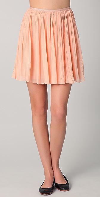 BB Dakota Kaley Pleated Skirt