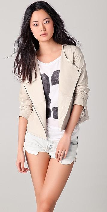 BB Dakota Kionia Leather Jacket