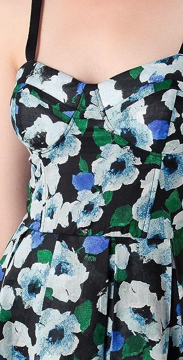 BB Dakota Bardot Floral Printed Dress