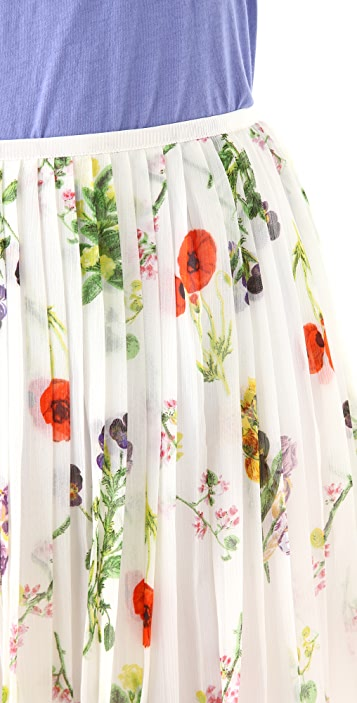 BB Dakota Cambree Print Skirt