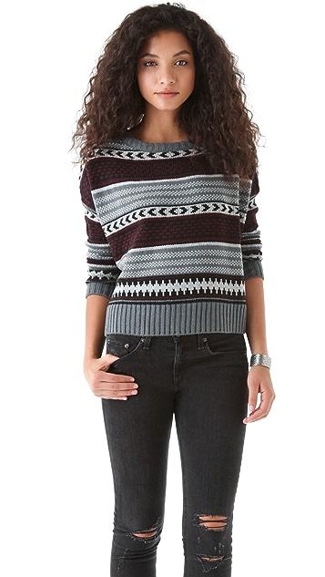 BB Dakota Kayla Patterned Sweater