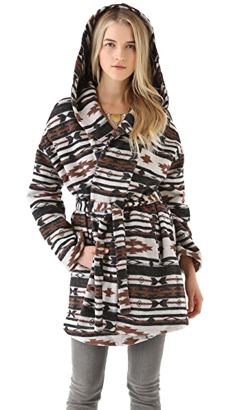 BB Dakota Keji Cheyenne Pattern Coat