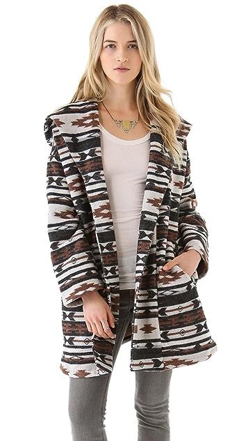 BB Dakota Keji Cheyenne Pattern Coat