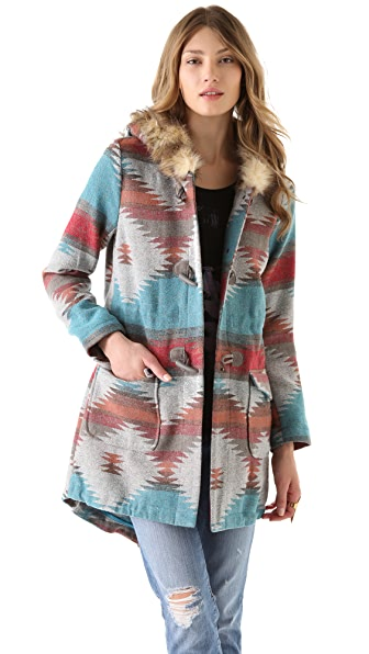 BB Dakota Printed Coat