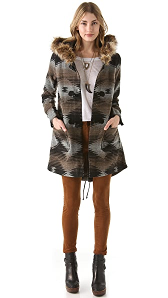 BB Dakota Print Coat