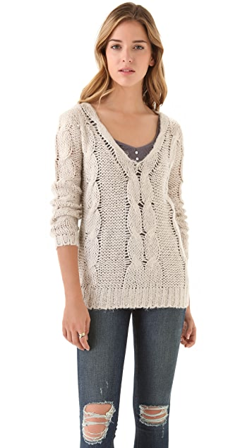 BB Dakota Corinth Cable Sweater