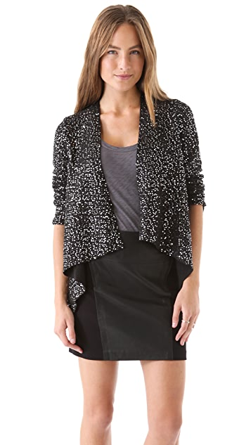 BB Dakota Remi Sequined Wool Jacket