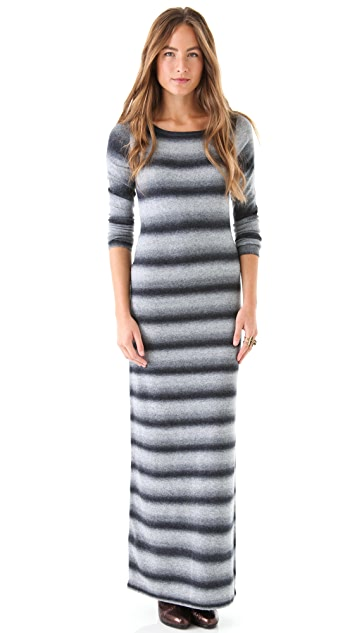 BB Dakota Lisbet Dye Maxi Sweater Dress