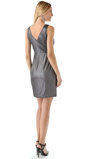 BB Dakota Davion Metallic Jersey Dress