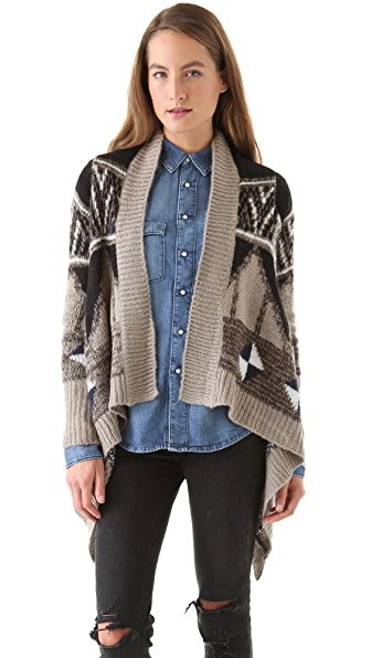BB Dakota Tuka Pattern Sweater